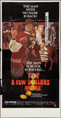 "Movie Posters:Western, For a Few Dollars More (United Artists, 1967). Three Sheet (41"" X 81""). Western.. ..."