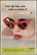 "Movie Posters:Drama, Lolita (MGM, 1962). One Sheet (27"" X 41""). Drama.. ..."
