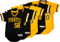 Baseball Collectibles:Uniforms, 1970's Pittsburgh Pirates Uniforms Balance of Collection....