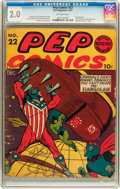Golden Age (1938-1955):Humor, Pep Comics #22 (MLJ, 1941) CGC GD 2.0 Off-white pages....