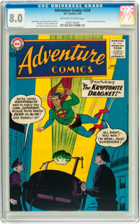 Adventure Comics #256 (DC, 1959) CGC VF 8.0 Off-white to white pages