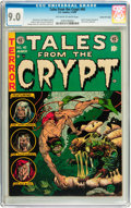 Golden Age (1938-1955):Horror, Tales From the Crypt #40 Gaines File pedigree 5/12 (EC, 1954) CGCVF/NM 9.0 Off-white to white pages....