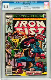 Iron Fist #12 (Marvel, 1977) CGC NM/MT 9.8 White pages