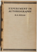 Books:Biography & Memoir, H. G. Wells. Experiment in Autobiography. New York: Macmillan, 1934. First American edition, first printing. Octavo....