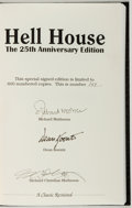 Books:Horror & Supernatural, Richard Matheson. SIGNED/LIMITED. Hell House. [Springfield]:Gauntlet, 1996. 25th Anniversary edition, limited...