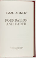 Books:Science Fiction & Fantasy, Isaac Asimov. Foundation and Earth. Garden City: Doubleday,1986. First edition, limited to 300 numbered copies of...