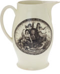 Political:3D & Other Display (pre-1896), John Adams: Liverpool Jug....