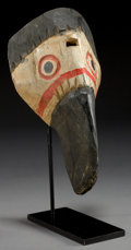 Other, A NORTHWEST COAST POLYCHROME WOOD MASK...