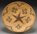 American Indian Art:Baskets, AN APACHE COILED BOWL. c. 1920...
