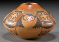 American Indian Art:Pottery, A HOPI POLYCHROME JAR. Vernida Polacca Nampeyo...