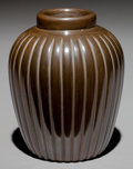 American Indian Art:Pottery, A SANTA CLARA BLACKWARE JAR. Alvin Baca...