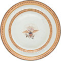 Political:Presidential Relics, John C. Calhoun: Personally-Owned Chinese Export Plate....