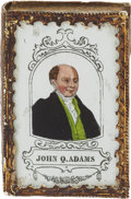 Political:3D & Other Display (pre-1896), . John Quincy Adams: Colorful Patch Box....