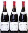 Red Burgundy, La Tache 1990 . Domaine de la Romanee Conti . 1 neck tagloose and reapplied, #06746, 06752, 06754. Bottle (3). ... (Total:3 Btls. )