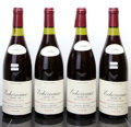 Red Burgundy, Echezeaux 1990 . E. Rouget . 1 capsule cut to revealbranding. Bottle (4). ... (Total: 4 Btls. )