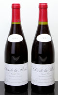 Red Burgundy, Clos de la Roche 1993 . Leroy . 1ssos due to overfill,#00143, 00148. Bottle (2). ... (Total: 2 Btls. )