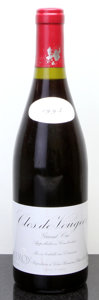 Red Burgundy, Clos Vougeot 1993 . Leroy . scl, ssos due to overfill#01107. Bottle (1). ... (Total: 1 Btl. )