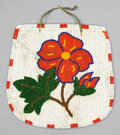 American Indian Art:Beadwork and Quillwork, A PLATEAU BEADED HIDE BELT POUCH...