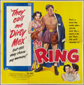 "Movie Posters:Sports, The Ring (United Artists, 1952). Six Sheet (81"" X 81""). Sports.. ..."