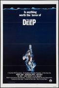 "Movie Posters:Adventure, The Deep (Columbia, 1977). One Sheet (27"" X 41""). Flat Folded.Style B. Adventure.. ..."