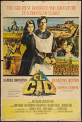 "Movie Posters:Adventure, El Cid (Allied Artists, 1961). Poster (40"" X 60""). Adventure.. ..."