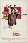 "Movie Posters:Crime, Point Blank (MGM, 1967). International One Sheet (27"" X 41"").Crime.. ..."