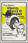 "Movie Posters:Sexploitation, Cherry, Harry & Raquel (Eve Productions, 1969). One Sheet (23""X 35""). Sexploitation.. ..."