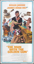 "Movie Posters:James Bond, The Man with the Golden Gun (United Artists, 1974). International Three Sheet (41"" X 77""). James Bond.. ..."