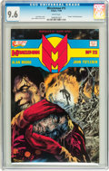 Modern Age (1980-Present):Superhero, Miracleman #15 (Eclipse, 1988) CGC NM+ 9.6 White pages....