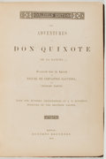 Books:Literature Pre-1900, Miguel de Cervantes. Charles Jarvis [translator]. The Adventuresof Don Quixote. Boston: Roberts Brothers, 1866. Dal...