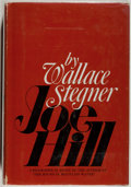 Books:Literature 1900-up, Wallace Stegner. Joe Hill. A Biographical Novel. NewYork: Doubleday, 1969. First edition. Octavo. 381 pages. Pu...