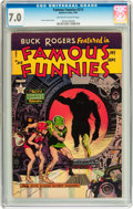 Golden Age (1938-1955):Science Fiction, Famous Funnies #213 (Eastern Color, 1954) CGC FN/VF 7.0 Off-whiteto white pages....