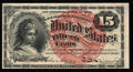 Fractional Currency:Fourth Issue, Fr. 1267 15¢ Fourth Issue About New.. ...