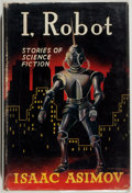 Books:Science Fiction & Fantasy, Isaac Asimov. GNOME PRESS FILE COPY/SIGNED BY MARTIN GREENBERG.I, Robot. London: Grayson & Grayson, [1952]. First B...