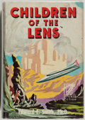 Books:Science Fiction & Fantasy, Edward E. Smith. SIGNED/LIMITED. Children of the Lens.Reading: Fantasy Press, [1954]. First edition, limited to 5...