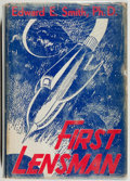 Books:Science Fiction & Fantasy, Edward E. Smith. INSCRIBED. First Lensman. Reading: FantasyPress, 1950. First edition, first printing. Inscribed ...