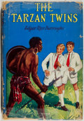 Books:Science Fiction & Fantasy, Edgar Rice Burroughs. The Tarzan Twins. London: Collins' Clear-Type Press, [1930]. First British edition, first prin...