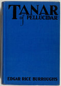 Books:Science Fiction & Fantasy, Edgar Rice Burroughs. Tanar of Pellucidar. New York: Metropolitan Books, [1930]. First edition, first printing. Octa...