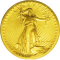 High Relief Double Eagles: , 1907 $20 High Relief, Wire Rim MS62 PCGS. This piece might be considered a good compromise between those who must have a Mi...