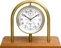 Timepieces:Other , Hamilton Model 21 Chronometer With Stand. ...