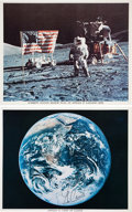 Autographs:Celebrities, Apollo 17: Signed Photos of Cernan and Schmitt. ... (Total: 2Items)