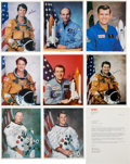 Autographs:Celebrities, Astronaut Signed Photo Collection.... (Total: 9 Items)