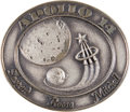 Transportation:Space Exploration, Apollo 14 Flown Silver Robbins Medallion, Serial Number 225....