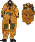 Transportation:Aviation, Air Force SR-71 Pilot S1030 High Altitude Full Pressure Suit withHarness.... (Total: 3 Items)