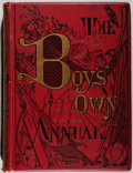 Books:Children's Books, The Boy's Own Annual. Volume 21 (October 1, 1898 toSeptember 30, 1899). [London: Boy's Own Paper, 1898-1899]. First...