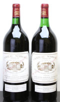 Red Bordeaux, Chateau Margaux 1982 . Margaux. 1wasl, 1lscl. Magnum (2). ... (Total: 2 Mags. )