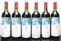 Red Bordeaux, Chateau Mouton Rothschild 1982 . Pauillac. 7bn, 1vhs, owc. Bottle (12). ... (Total: 12 Btls. )