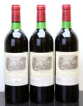 Red Bordeaux, Chateau Lafite Rothschild 1982 . Pauillac. 2bn, 1ts, 1lbsl,1lnc. Bottle (3). ... (Total: 3 Btls. )