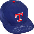 "Baseball Collectibles:Uniforms, 1993 Jose Canseco Game Worn Texas Rangers Cap from ""Home Run Header.""..."