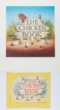 Books:Children's Books, Garth Williams. INITIALED/SIGNED. Dust Jacket for The ChickenBook , signed in full along front left side. H...